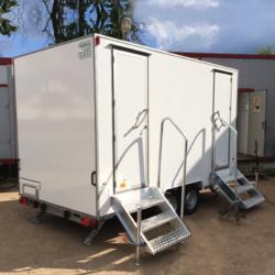 Автономный туалет на колесах, базовая комплектация