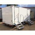 Автономный туалет на колесах, комплектация люкс