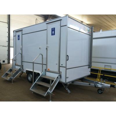 Автономный туалет на колесах, базовая модель