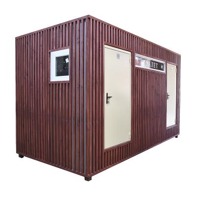 Автономный туалет АМ-4, фасад