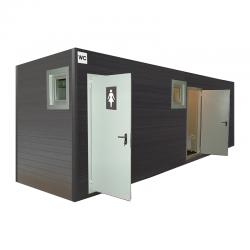 Сетевые модульные туалеты
