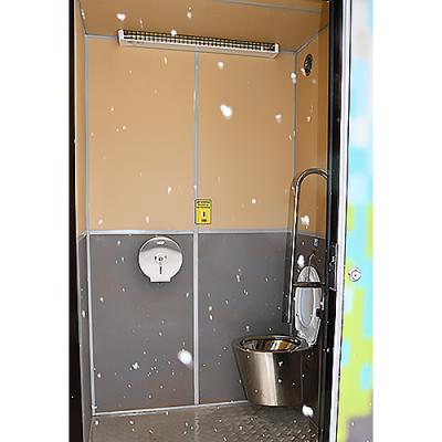 Вакуумный модульный туалет S-1, кабина