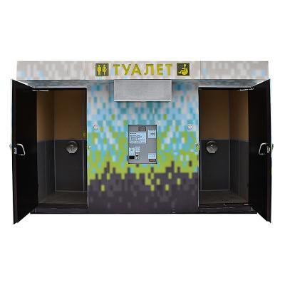 Вакуумный модульный туалет S-1