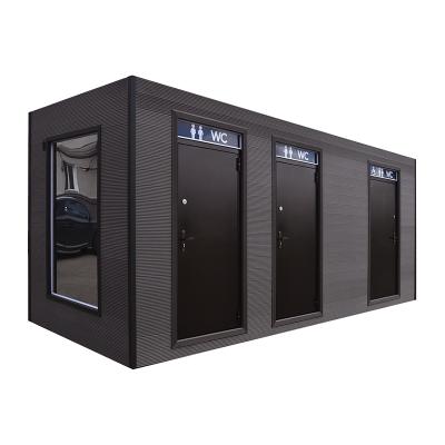 Сетевой туалетный модуль СГМ-5, фасад